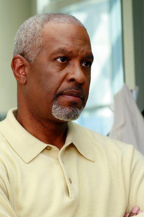 Veranstaltet einen Herrenabend mit seinen Kollegen, um über seine Eheprobleme hinweg zu kommen: Webber (James Pickens jr.) ... - Bildquelle: Touchstone Television