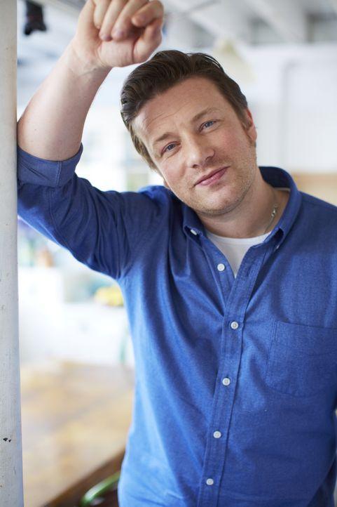 (2. Staffel) - Tipps und Tricks für den perfekten Spar-Einkauf, zur optimalen Vorratshaltung und zur Weiterverwertung der Leckerbissen des Vortages... - Bildquelle: David Loftus 2013 Jamie Oliver Enterprises Ltd.