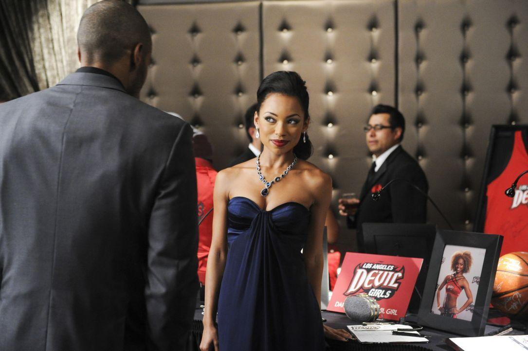Terrence hat ein Geheimnis vor Jelena (Logan Browning), doch sie wird nicht aufgeben, bis sie die Wahrheit kennt ... - Bildquelle: 2013 Starz Entertainment LLC, All rights reserved