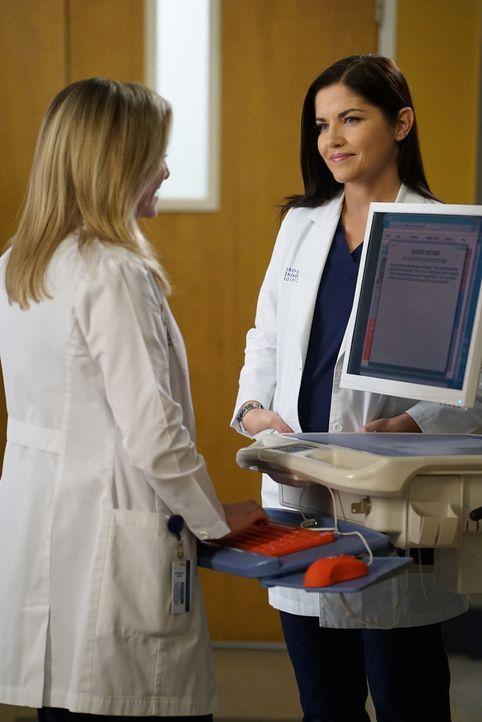 Während Alex ins Krankenhaus zurückkehrt und herausfindet, dass sich vieles geändert hat seitdem er gegangen ist, versucht sich Arizona (Jessica Cap... - Bildquelle: Eric McCandless 2016 American Broadcasting Companies, Inc. All rights reserved.