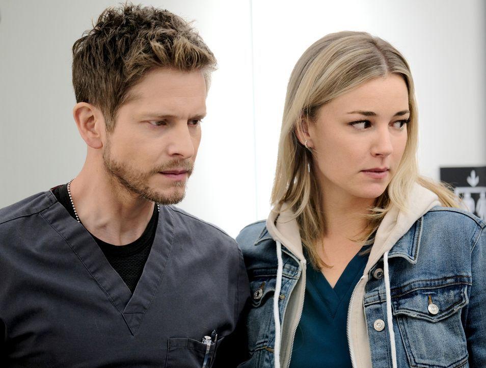 Dr. Conrad Hawkins (Matt Czuchry, l.); Nicolette Nevin (Emily VanCamp, r.) - Bildquelle: 2018-2019 Twentieth Century Fox Film Corporation. All rights reserved.