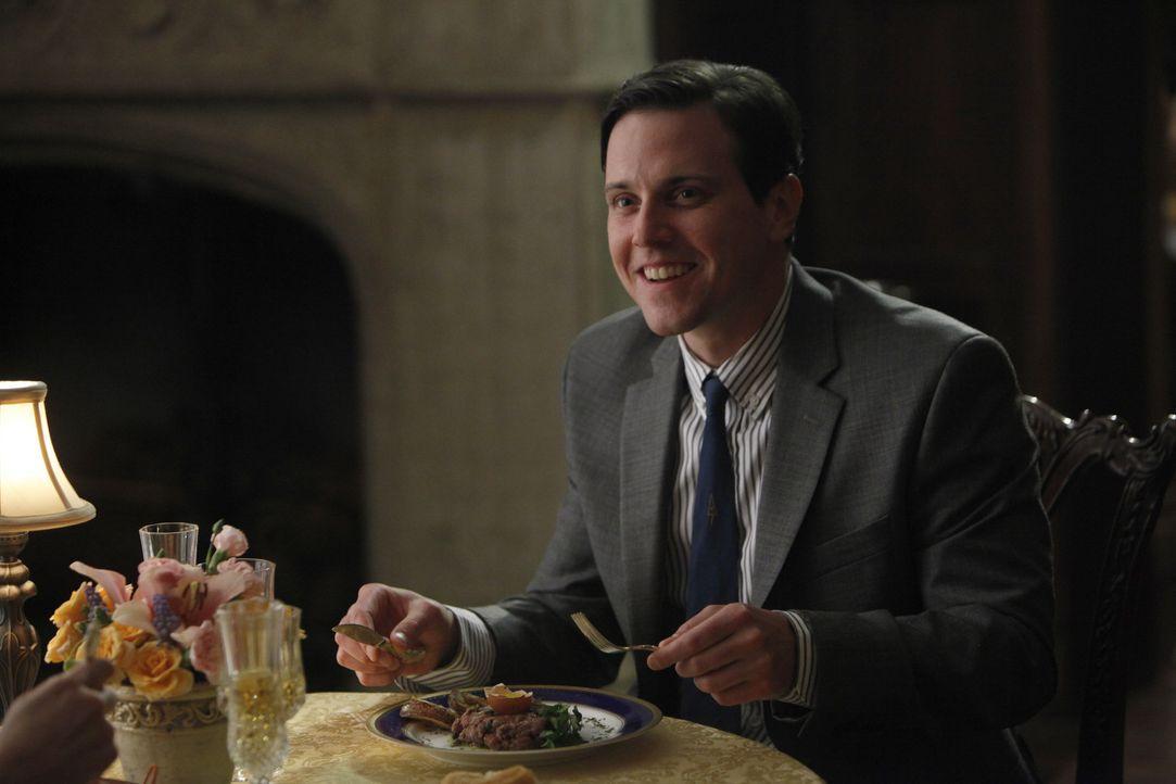 Für Ted (Michael Mosley) eine Horrorvorstellung: Er soll sich mit einer alten Bekannten treffen, in die er einmal verliebt war ... - Bildquelle: 2011 Sony Pictures Television Inc.  All Rights Reserved.