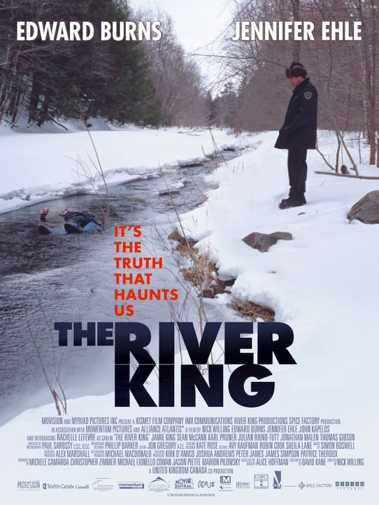 """The River King"" - Plakatmotiv - Bildquelle: Myriad Pictures Inc."