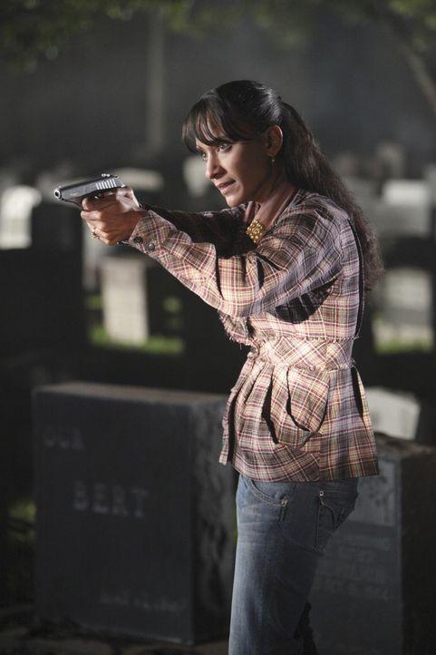 So ganz unschuldig am Mord an ihrem Mann scheint Gayle Carver (Sophina Brown) doch nicht zu sein ... - Bildquelle: 2010 American Broadcasting Companies, Inc. All rights reserved.