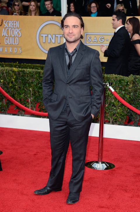 The Big Bang Theory Star Johnny Galecki - Bildquelle: AFP