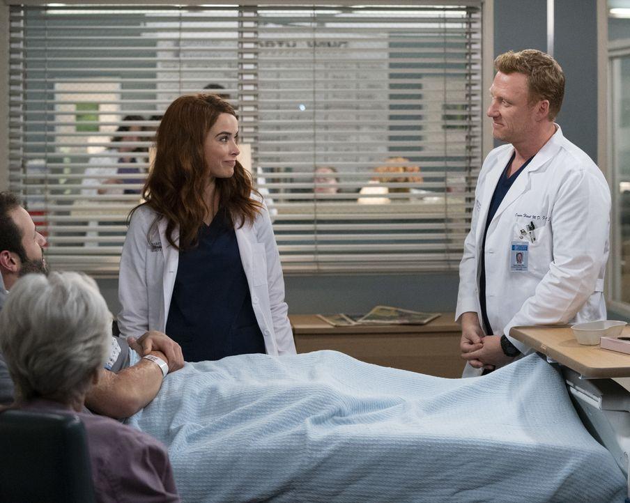 Dr. Megan Hunt (Abigail Spencer, l.); Dr. Owen Hunt (Kevin McKidd, r.) - Bildquelle: Mitch Haaseth ABC Studios / Mitch Haaseth