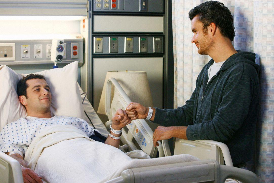 Die Operation schweißt Tommy (Balthazar Getty, r.) und Kevin (Matthew Rhys, l.) so stark zusammen, dass sie ihren jahrelangen Groll vergessen ... - Bildquelle: 2008 ABC INC.