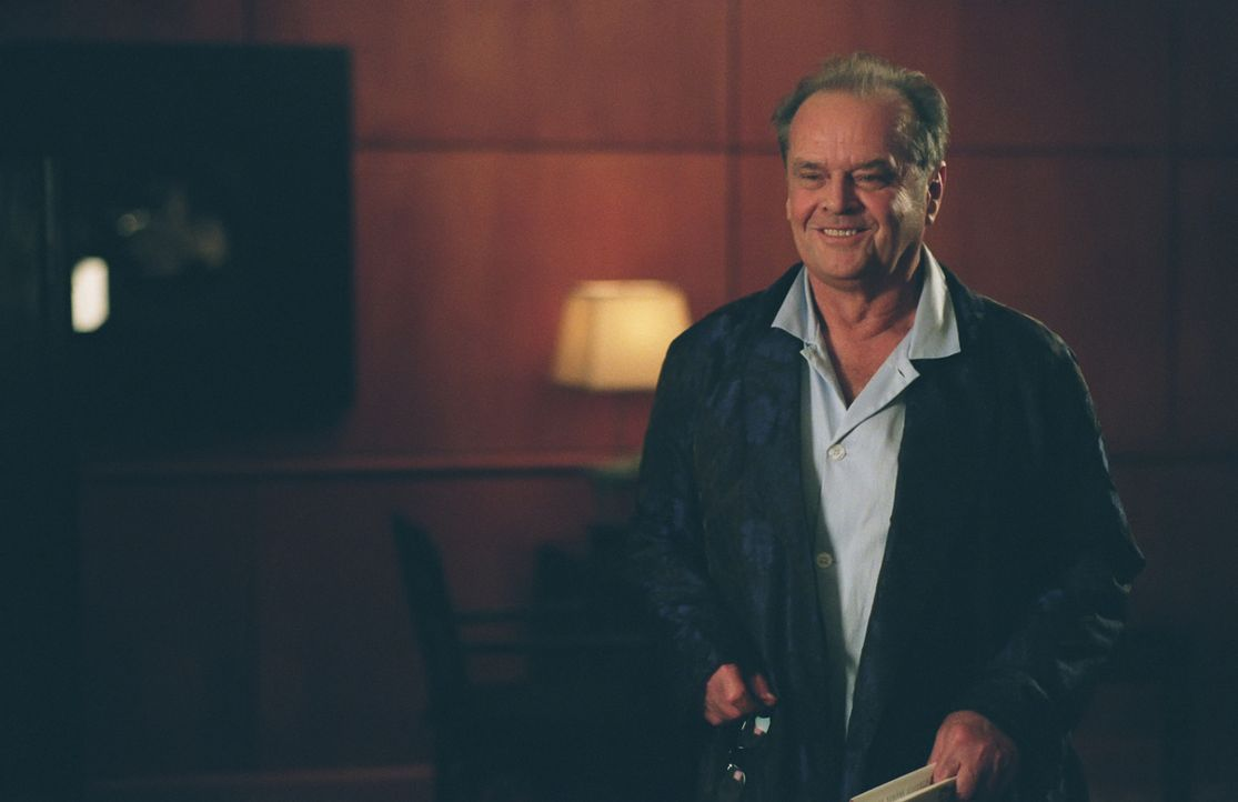 Edward Cole (Jack Nicholson) hat soeben erfahren, dass er an Krebs leidet und möchte nun all die Dinge tun, für die er bisher keine Zeit hatte ... - Bildquelle: TM and   2007 Warner Bros. Entertainment Inc. All Rights Reserved.