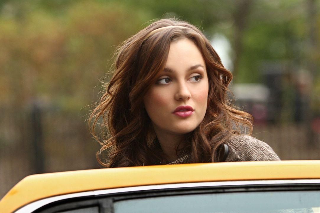 Blair (Leighton Meester) kann nicht fassen, dass ihr Vater nicht einmal zu Thanksgiving nach Hause kommt ... - Bildquelle: Warner Brothers