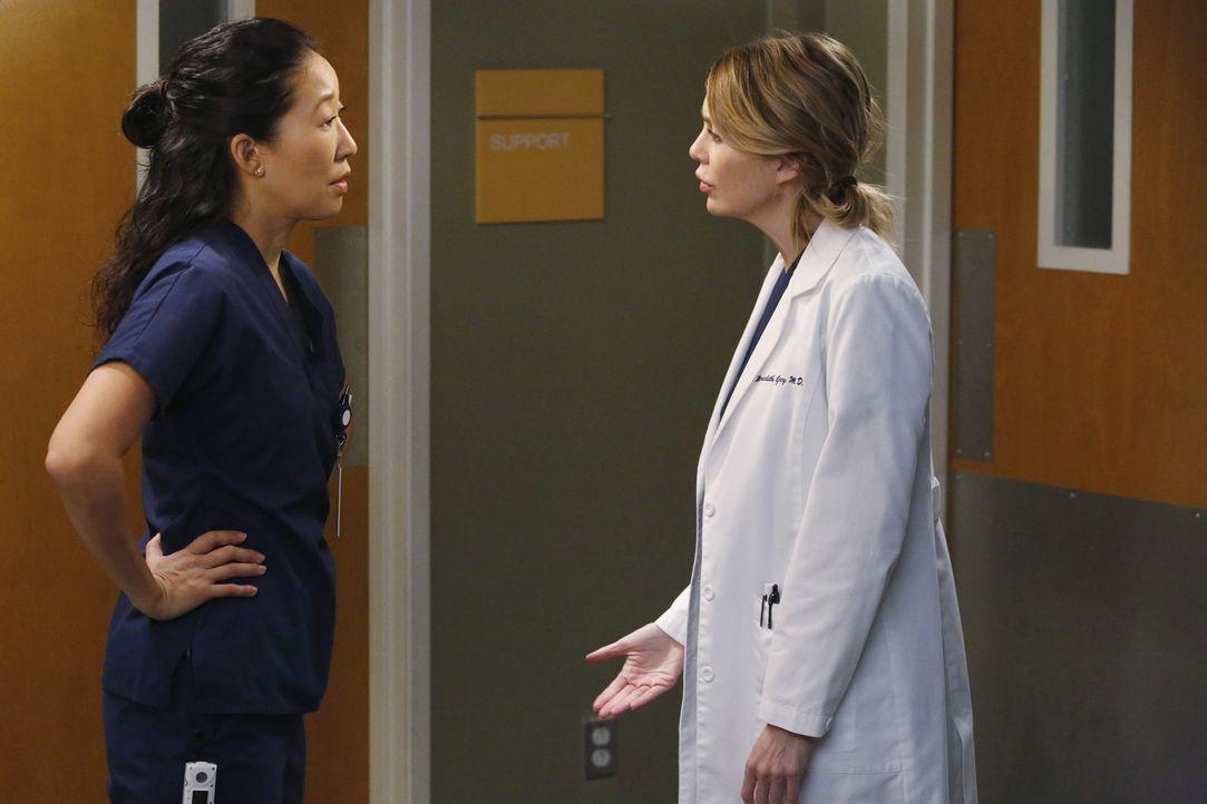 Zwischen Christina (Sandra Oh, l.) und Meredith (Ellen Pompeo, r.) herrscht immer noch eisige Stimmung ... - Bildquelle: ABC Studios