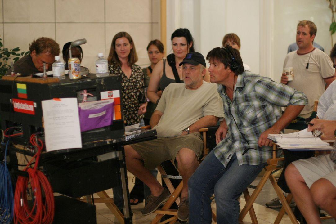"""Bei den Dreharbeiten zu """"One Tree Hill"""" .. - Bildquelle: Warner Bros. Pictures"""
