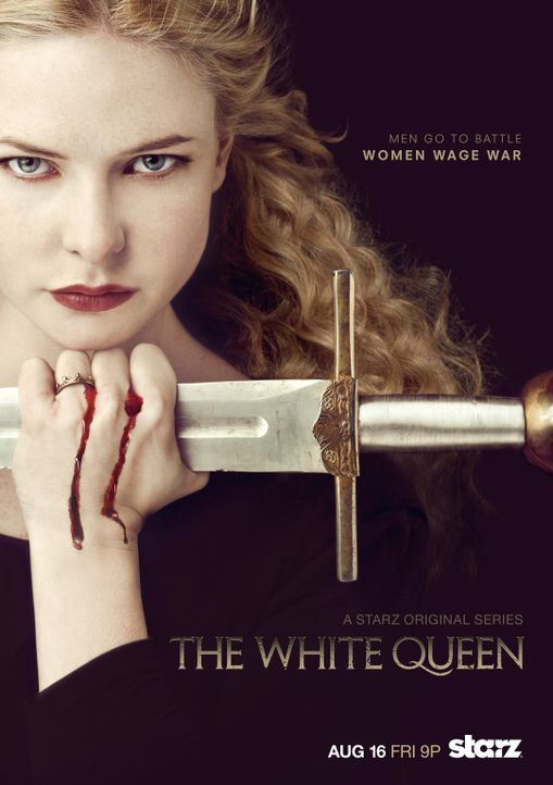 """WHITE QUEEN"" - Plakatmotiv - Bildquelle:  2013 Starz Entertainment LLC"