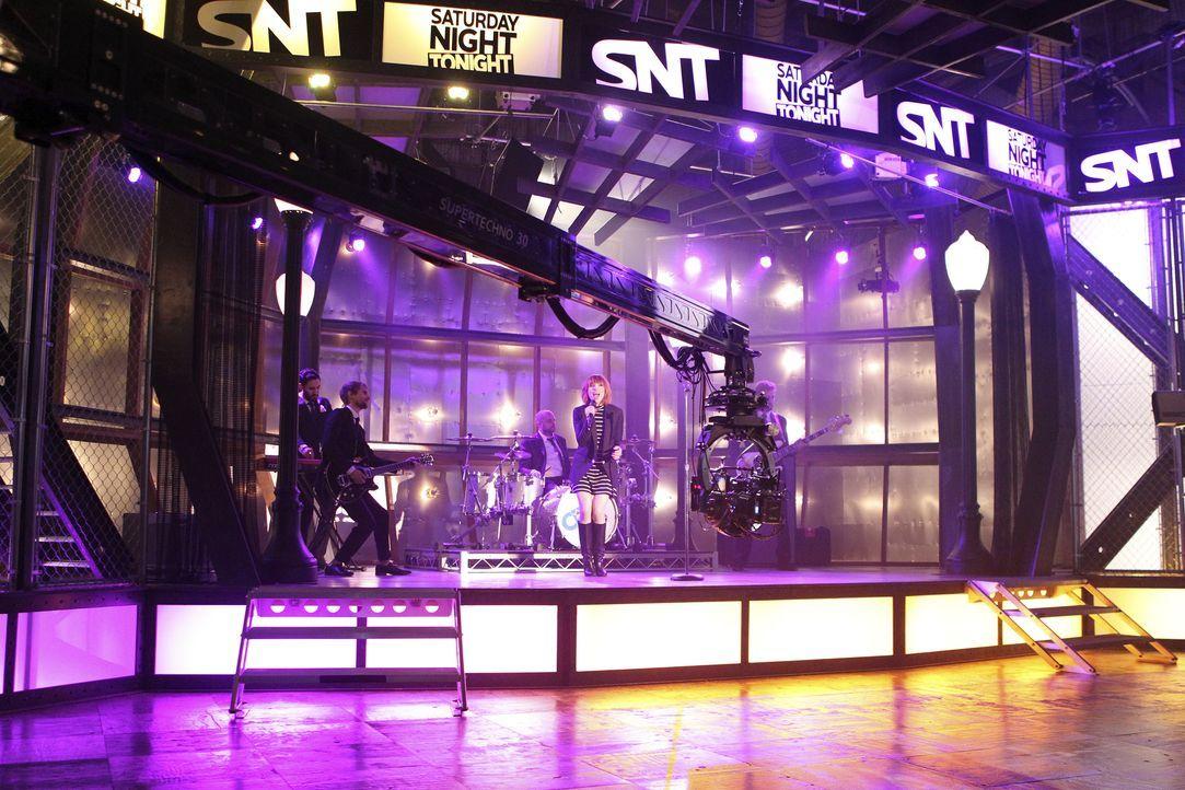 Der Auftritt der Sängerin Carly Rae Jepsen (Carly Rae Jepsen) läuft normal, bis etwas Unerwartetes passiert ... - Bildquelle: John Fleenor ABC Studios / John Fleenor