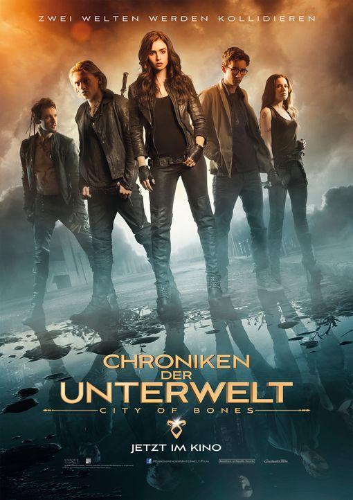 CHRONIKEN DER UNTERWELT - CITY OF BONES - Plakat - Bildquelle: 2013 Constantin Film Verleih GmbH.