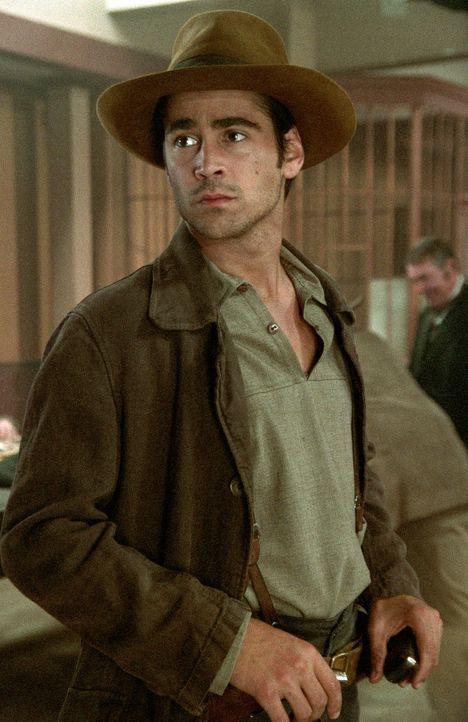 Jesse James (Colin Farrell) plant den nächsten Banküberfall ... - Bildquelle: Warner Bros.