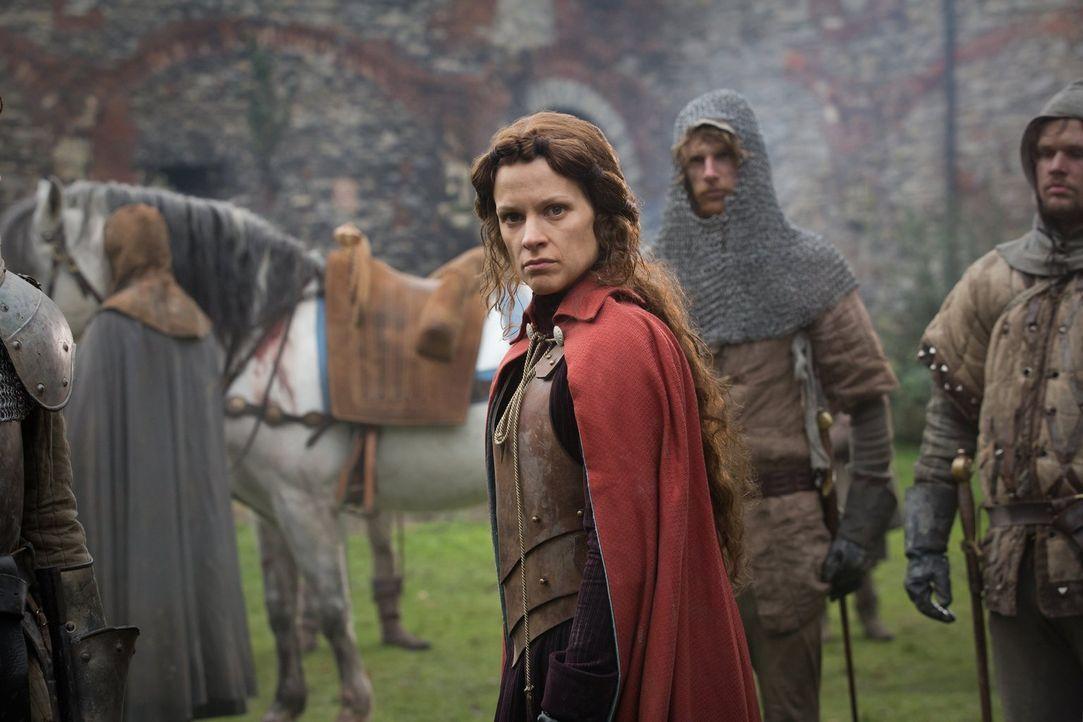 Die Nachricht, die Margaret d'Anjou (Veerle Baetens) bei ihrer Ankunft in Devon bekommt, ist keine gute ... - Bildquelle: 2013 Starz Entertainment LLC, All rights reserved