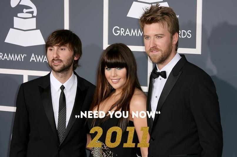 Grammy 2011: Need you now - Bildquelle: wenn