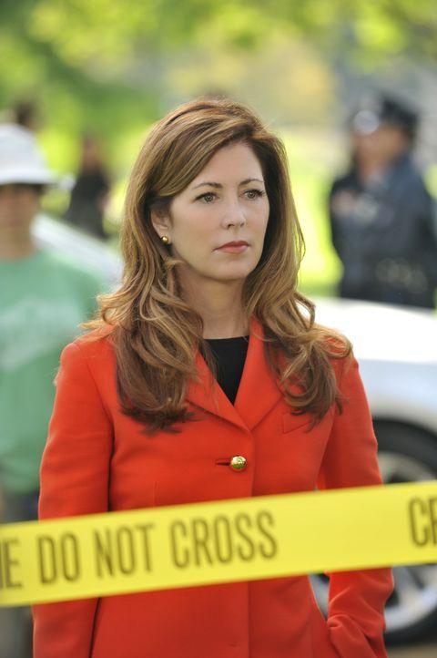 Das Leben ihrer Tochter Lacey ist in Gefahr und Megan (Dana Delany) kann niemanden um Hilfe bitten. Die Lage spitzt sich zu als in einem Park die Le... - Bildquelle: ABC Studios