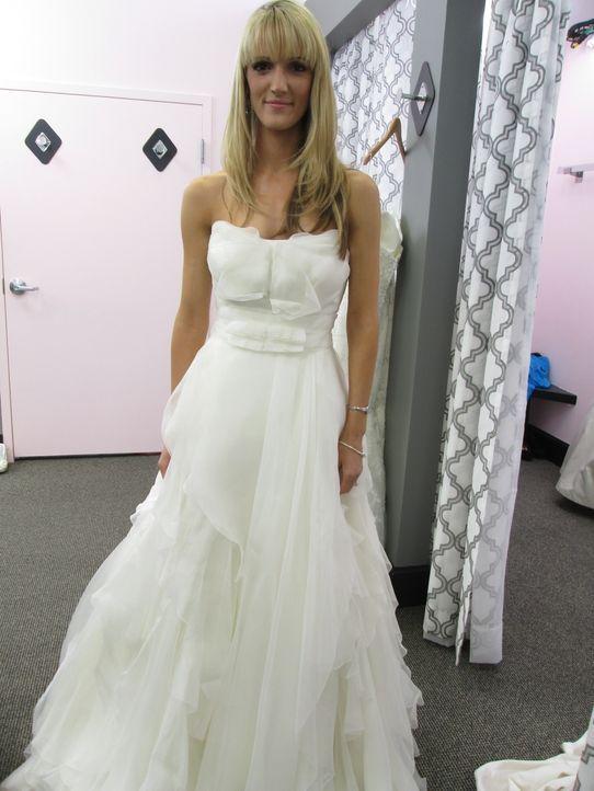 Bei Rick und Leslie findet auch Amanda Kelly (Bild) mit ihrem kleinen Budget das perfekte Hochzeitskleid ... - Bildquelle: TLC