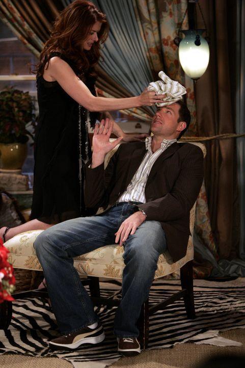 Der Valentinstag steckt voller Überraschungen: Grace (Debra Messing, l.) und Nick (Edward Burns, r.) ... - Bildquelle: NBC Productions
