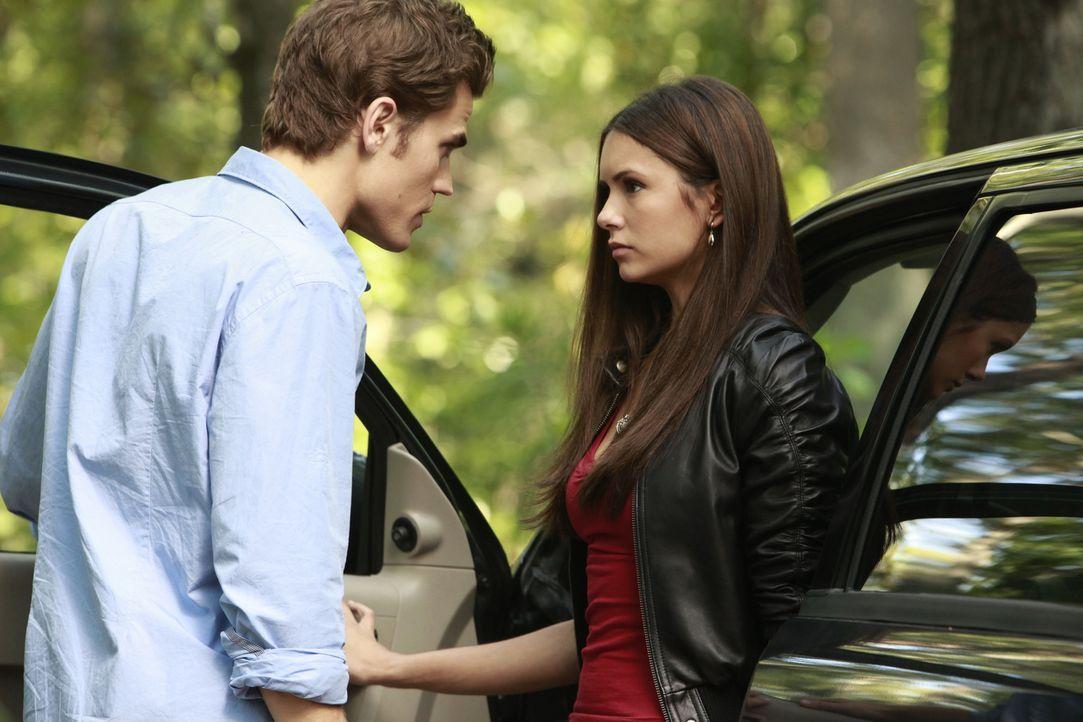 Wird Elena (Nina Dobrev, r.) mit Stefan (Paul Wesley, l.) noch befreundet sein wollen, wenn sie seine wahre Herkunft erfährt? - Bildquelle: Warner Brothers