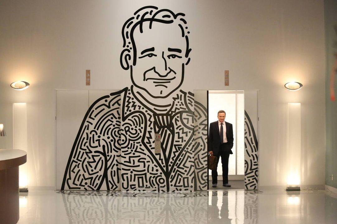 Als Inhaber einer Werbeagentur kann sich Simon Roberts (Robin Williams) jegliche Allüren leisten ... - Bildquelle: 2013 Twentieth Century Fox Film Corporation. All rights reserved.