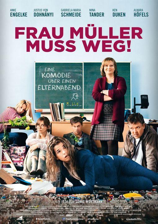 Frau Müller muss weg - Plakatmotiv - Bildquelle: CONSTANTIN FILM VERLEIH GMBH