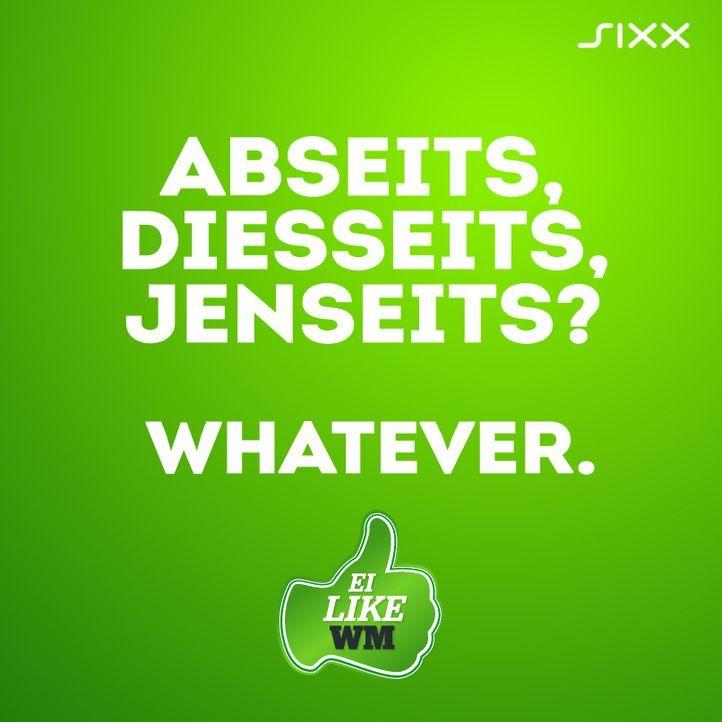 WM 2014: Funnyposts Abseits - Bildquelle: sixx