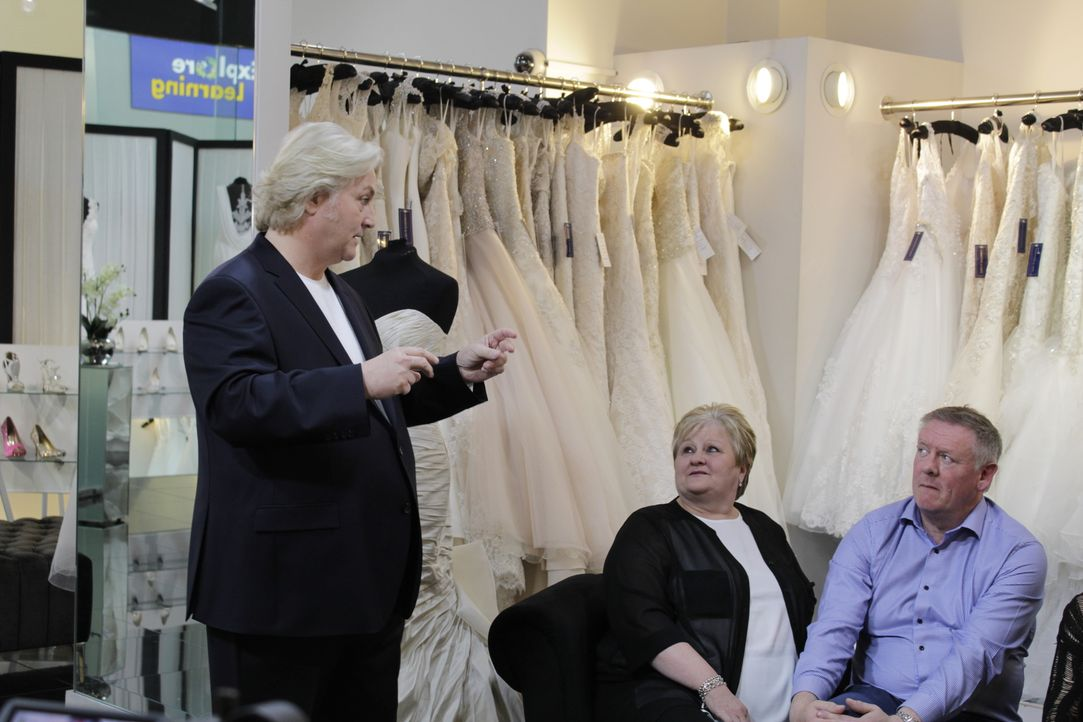 Braut Amy hat etwas vor ihrem Vater zu verbergen: Er weiß nicht, dass sie ih... - Bildquelle: TLC & Discovery Communications