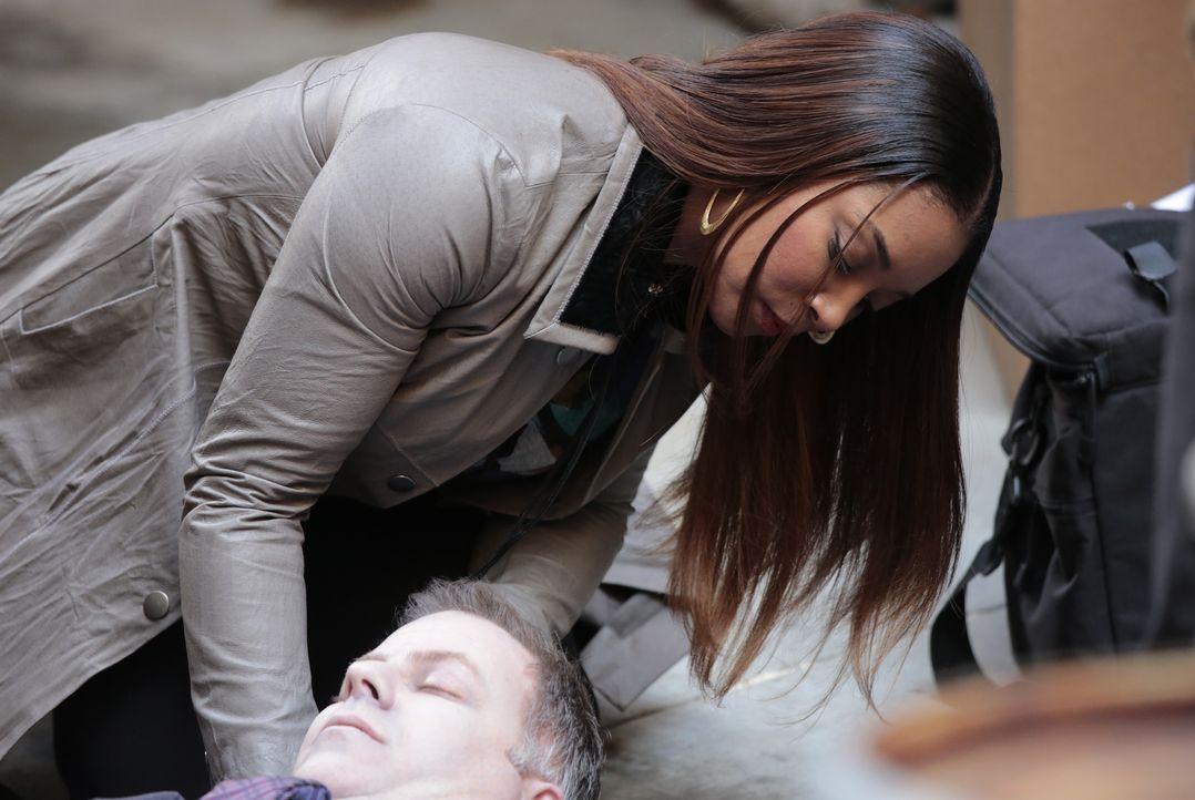 Die Erkenntnis, woran Falco gestorben ist, fällt Lanie (Tamala Jones) leicht ... - Bildquelle: Richard Cartwright ABC Studios / Richard Cartwright