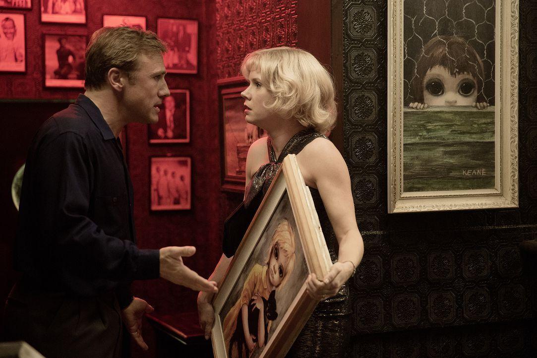 Walter Keane (Christoph Waltz, l.); Margaret Keane (Amy Adams, r.) - Bildquelle: 2014 The Weinstein Company. Alle Rechte vorbehalten