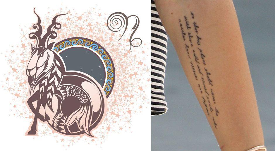 Tattoo frau sternzeichen wassermann Sternzeichen Tattoos