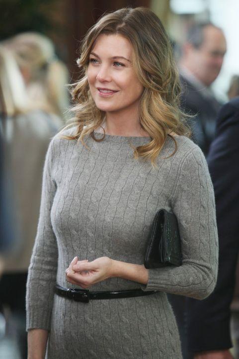 Nimmt gemeinsam mit ihrem Mann Derek an einer Wohltätigkeitsveranstaltung teil: Meredith (Ellen Pompeo) ... - Bildquelle: Touchstone Television