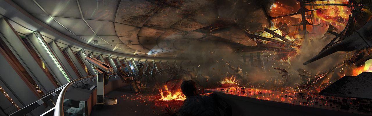Das Inferno - Flammen über Berlin - Artwork - Bildquelle: ProSieben ProSieben