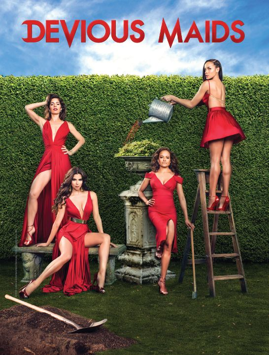 (3. Staffel) - Devious Maids - Artwork - Bildquelle: 2015 American Broadcasting Companies, Inc. All rights reserved.
