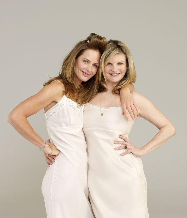 (3. Staffel) - In Sachen Mode macht diesen beiden Ladys keiner so schnell etwas vor: Trinny (l.) und Susannah (r.) ... - Bildquelle: Robin Matthews XYZ Networks