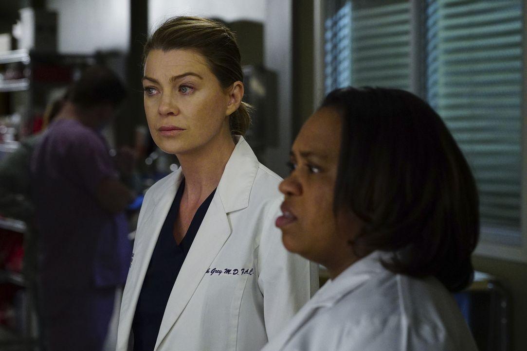 Ein harter Arbeitstag wartet auf Meredith (Ellen Pompeo, l.) und Bailey (Chandra Wilson, r.) ... - Bildquelle: Richard Cartwright ABC Studios