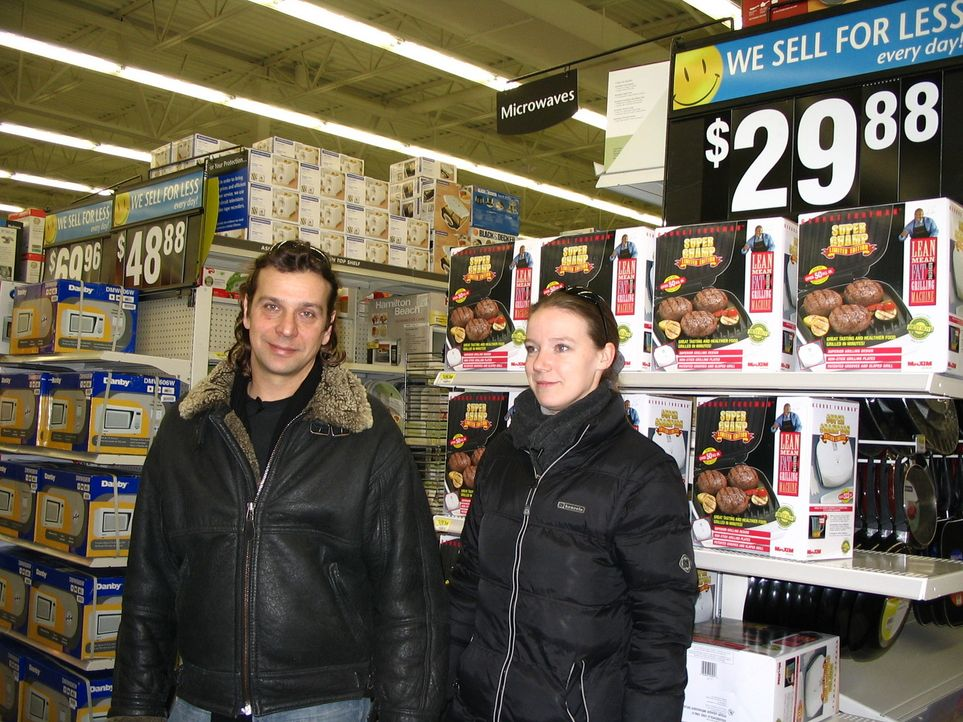 Volker Wiedner (l.) und Severine Staubach (r.) wollen in Kanada ein neues Leben beginnen. - Bildquelle: kabel eins