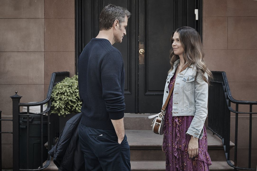 Charles Brooks (Peter Hermann, l.); Liza Miller (Sutton Foster, r.) - Bildquelle: 2019 Viacom International Inc. All Rights Reserved