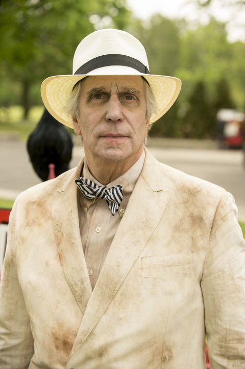Eddie Lawson (Henry Winkler) - Bildquelle: David Giesbrecht 2012 USA Network Media, LLC/ David Giesbrecht