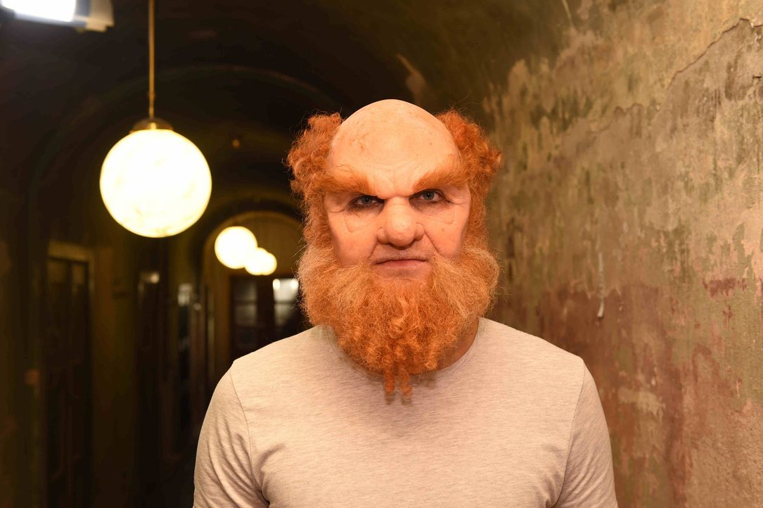 Wie sieht Troll Tobi wohl ohne Maske aus? - Bildquelle: Andre Kowalski sixx