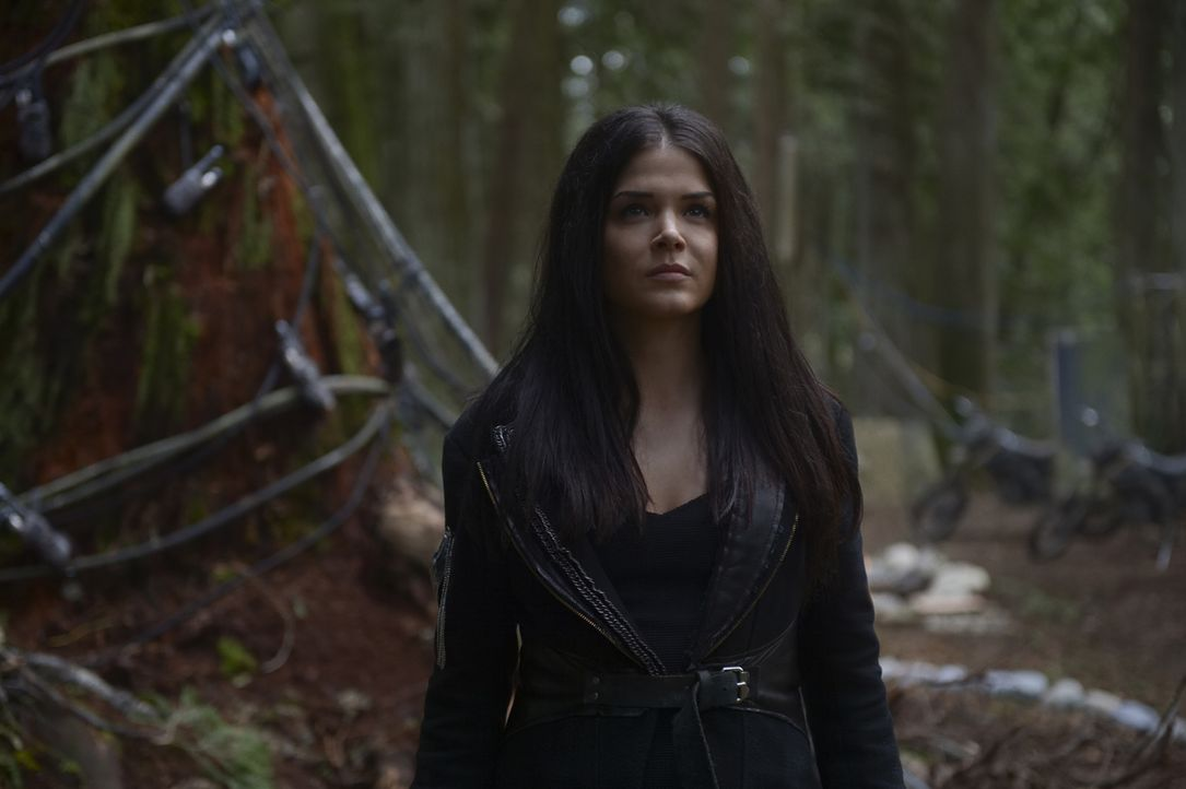 Octavia Blake (Marie Avgerooulos) - Bildquelle: Sergei Bachlakov 2019 The CW Network, LLC. All rights reserved / Sergei Bachlakov