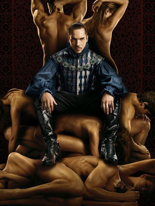 (3. Staffel) - Ein König, der alles möchte: König Henry VIII. von England (Jonathan Rhys Meyers) ... - Bildquelle: 2009 TM Productions Limited/PA Tudors Inc. An Ireland-Canada Co-Production. All Rights Reserved.