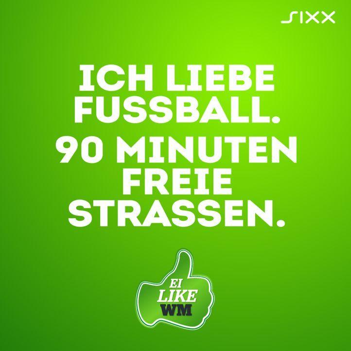 WM 2014: Funnyposts Straßen frei - Bildquelle: sixx