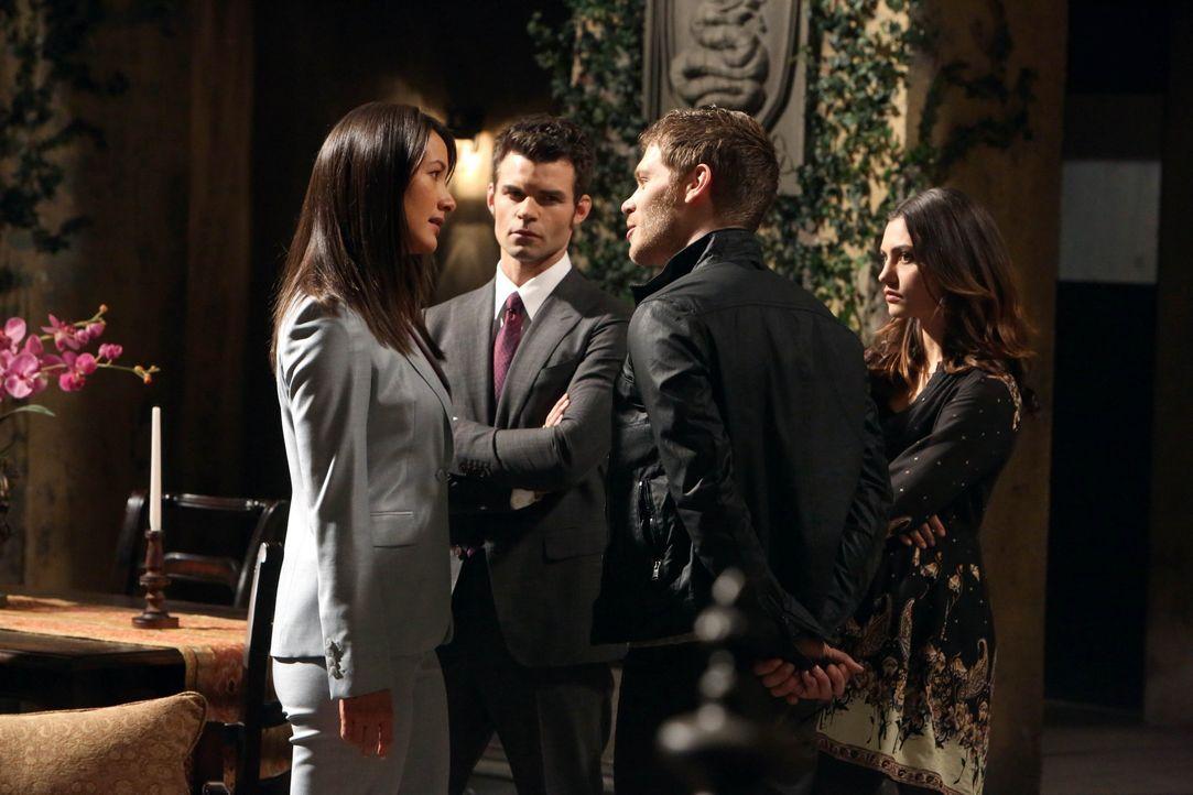 Klaus, Elijah und Francesca  - Bildquelle: Warner Bros. Entertainment Inc.