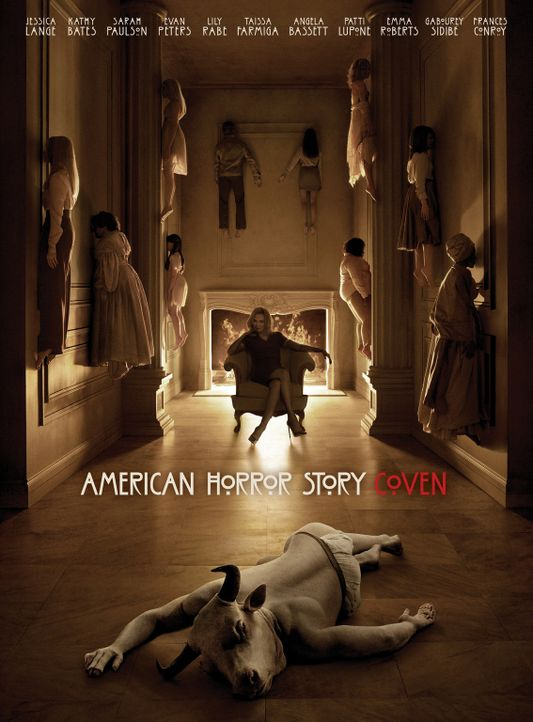 (3. Staffel) - American Horror Story - Plakatmotiv - Bildquelle: 2013-2014 Fox and its related entities. All rights reserved.