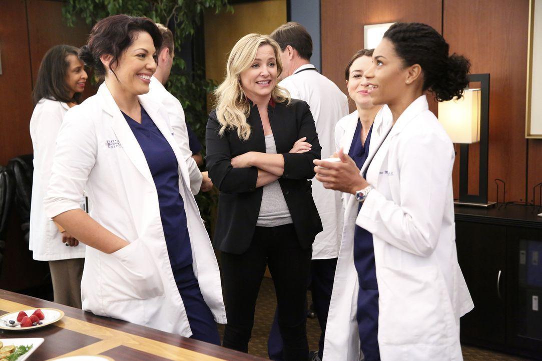 Nachdem Bailey ihren Job angetreten hat, wollen die Kollegen ihr gratulieren - doch die Reaktion darauf ist anders als erwartet: Callie (Sara Ramire... - Bildquelle: ABC Studios