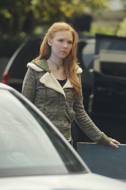 Als Alexis Castle (Molly C. Quinn) erfährt, dass sich ihr Vater und ihre Großmutter in der Bank befinden, die soeben überfallen wurde, ist sie außer... - Bildquelle: 2011 American Broadcasting Companies, Inc. All rights reserved.