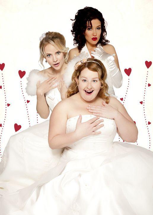 (3. Staffel) - Ist tatsächlich das Ende ihres Singledaseins gekommen? Fatima Prins (Bracha van Doesburgh, l.), Stella Deporter (Katja Schuurman, hi... - Bildquelle: SBS