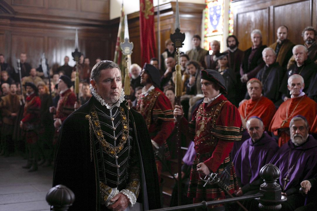 Muss sich vor Gericht verantworten: Lord Surrey (David O'Hara) ... - Bildquelle: 2010 TM Productions Limited/PA Tudors Inc. An Ireland-Canada Co-Production. All Rights Reserved.